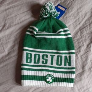 Adidas Boston Celtics  Beanie Hat  NWT